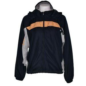 Adidas Womens Windbreaker Jacket Lightweight Large